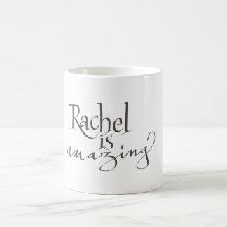 レイチェルはすばらしいマグです コーヒーマグカップ