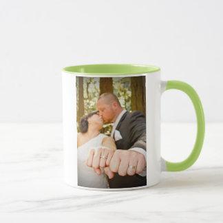 レイチェル及びRobの結婚式のマグ マグカップ