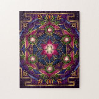 レイチェルC. Bemis著成長の曼荼羅のパズル ジグソーパズル