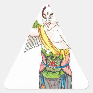 レイチェンtze 三角形シール