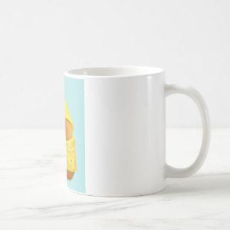 レインコートのルビー コーヒーマグカップ