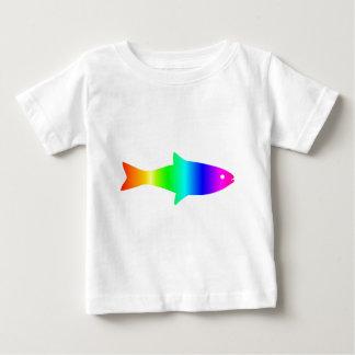 レインボーフィッシュ#2 ベビーTシャツ
