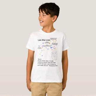 レオのキリスト教の預言のTシャツ(子供) Tシャツ