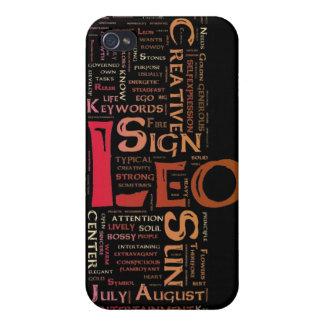 レオのキーワードの電話箱 iPhone 4/4S COVER
