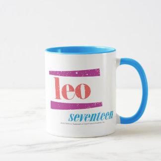 レオのピンク マグカップ
