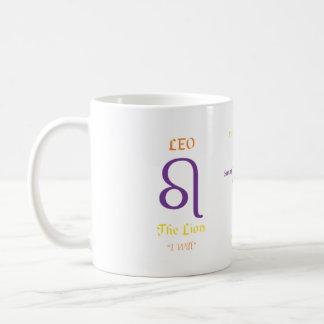 レオのマグ コーヒーマグカップ