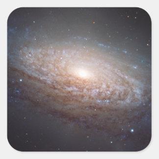 レオの渦状銀河 スクエアシール