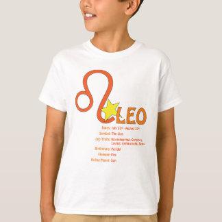 レオの特性の子供のTシャツ Tシャツ