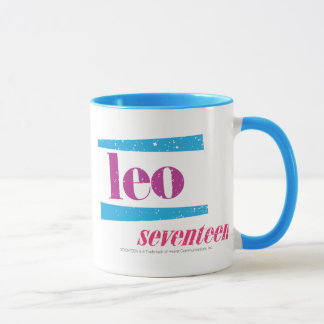 レオの紫色 マグカップ