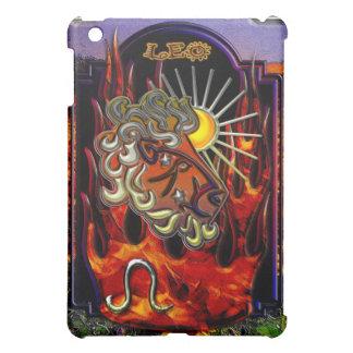 レオの(占星術の)十二宮図の印のiPadのデザイン iPad Miniケース