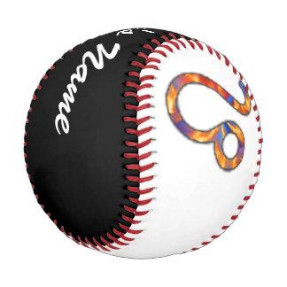 レオの(占星術の)十二宮図の記号の要素 野球ボール
