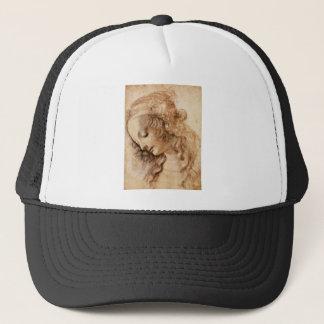 レオナルドの女性の頭部 キャップ
