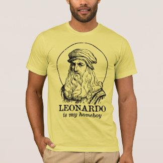 レオナルドは私の同郷人です Tシャツ