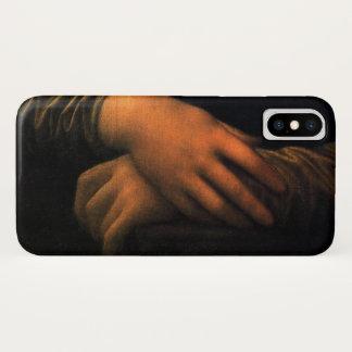レオナルドモナ・リザ手 iPhone X ケース