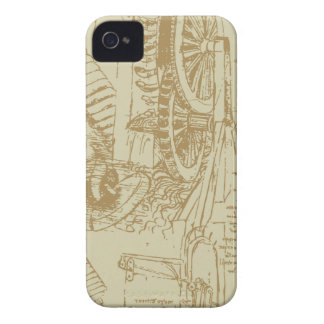 レオナルド・ダ・ヴィンチのアートワーク Case-Mate iPhone 4 ケース