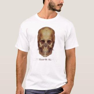 レオナルド・ダ・ヴィンチのスカルFrac Tシャツ