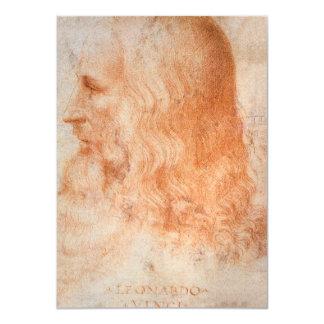 レオナルド・ダ・ヴィンチのポートレート カード
