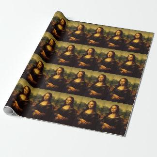 レオナルド・ダ・ヴィンチのモナ・リザの包装紙 ラッピングペーパー