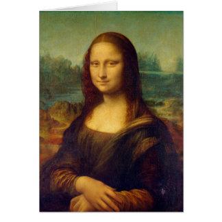 レオナルド・ダ・ヴィンチのモナ・リザの絵画 カード