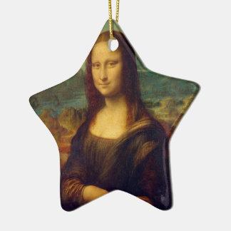 レオナルド・ダ・ヴィンチのモナ・リザの絵画 セラミックオーナメント