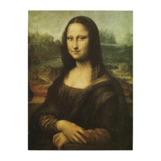 レオナルド・ダ・ヴィンチのルネサンス芸術著モナ・リザ ウッドウォールアート