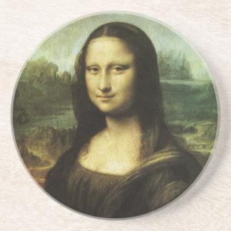 レオナルド・ダ・ヴィンチのルネサンス芸術著モナ・リザ コースター