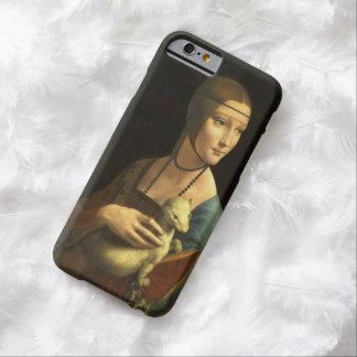 レオナルド・ダ・ヴィンチの女性With Ermine Vintage Barely There iPhone 6 ケース