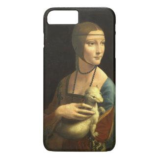 レオナルド・ダ・ヴィンチの女性With Ermine Vintage iPhone 8 Plus/7 Plusケース