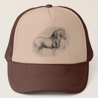 レオナルド・ダ・ヴィンチの馬の帽子 キャップ