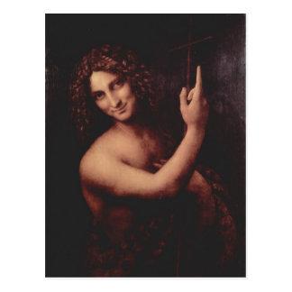 レオナルド・ダ・ヴィンチのHl。 ヨハネスのder Tか。ufer 1513-151 ポストカード
