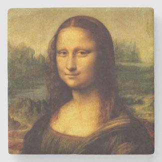 レオナルド・ダ・ヴィンチモナ・リザのファインアートの絵画 ストーンコースター