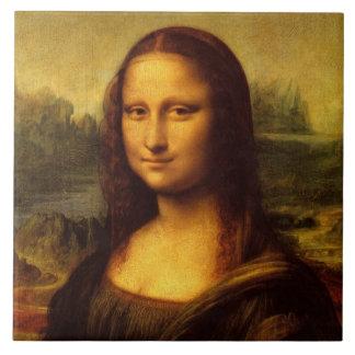 レオナルド・ダ・ヴィンチモナ・リザのファインアートの絵画 タイル