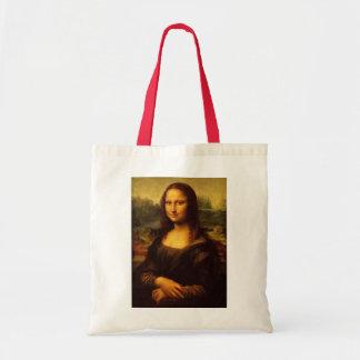 レオナルド・ダ・ヴィンチモナ・リザのファインアートの絵画 トートバッグ