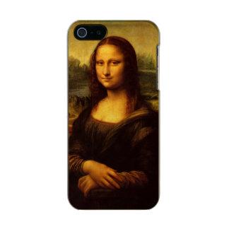 レオナルド・ダ・ヴィンチモナ・リザのファインアートの絵画 メタリックiPhone SE/5/5sケース