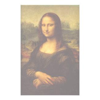 レオナルド・ダ・ヴィンチモナ・リザのファインアートの絵画 便箋