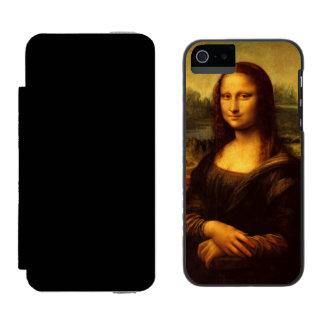 レオナルド・ダ・ヴィンチモナ・リザのファインアートの絵画 INCIPIO WATSON™ iPhone 5 ウォレット ケース