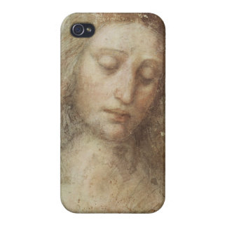 レオナルド・ダ・ヴィンチ著キリストの頭部 iPhone 4 CASE