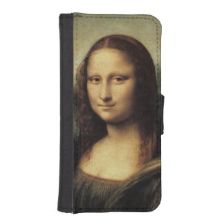 レオナルド・ダ・ヴィンチ著モナ・リザのLa Gioconda iPhoneSE/5/5sウォレットケース