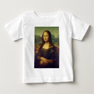 レオナルド・ダ・ヴィンチ著モナ・リザのLa Joconde ベビーTシャツ
