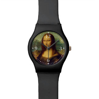 レオナルド・ダ・ヴィンチ著モナ・リザ 腕時計