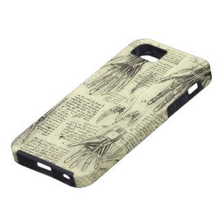 レオナルド・ダ・ヴィンチ著人間手の解剖学 iPhone 5 カバー