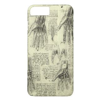レオナルド・ダ・ヴィンチ著人間手の解剖学 iPhone 8 PLUS/7 PLUSケース