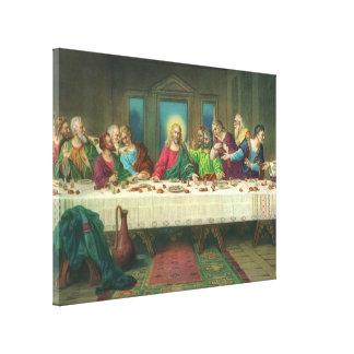 レオナルド・ダ・ヴィンチ著最後の晩餐 キャンバスプリント