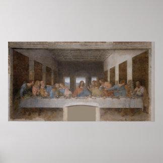 レオナルド・ダ・ヴィンチ著最後の晩餐 ポスター