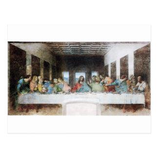 レオナルド・ダ・ヴィンチ著最後の晩餐 ポストカード