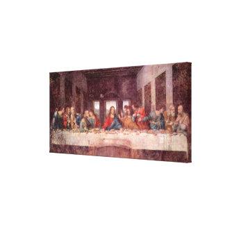 レオナルド・ダ・ヴィンチ著最後の晩餐、ルネサンス キャンバスプリント