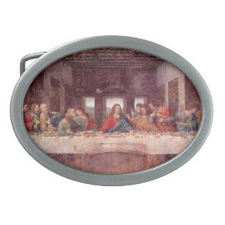 レオナルド・ダ・ヴィンチ著最後の晩餐、ルネサンス 卵形バックル