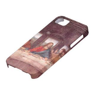 レオナルド・ダ・ヴィンチ著最後の晩餐、ルネサンス iPhone SE/5/5s ケース