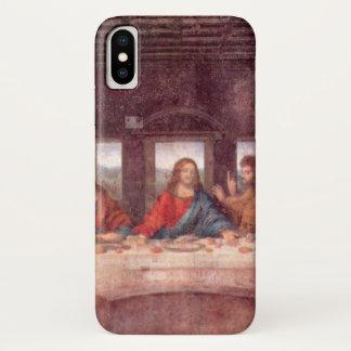 レオナルド・ダ・ヴィンチ著最後の晩餐、ルネサンス iPhone X ケース