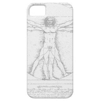 レオナルド・ダ・ヴィンチ著Vitruvianの人 iPhone SE/5/5s ケース